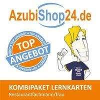 Michaela Rung-Kraus: AzubiShop24.de Kombi-Paket Lernkarten Restaurantfachmann/-frau, Buch