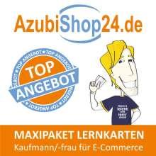 Michaela Rung-Kraus: Maxi-Paket Lernkarten Kaufmann/-frau für E-Commerce, Buch