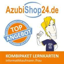 Michaela Rung-Kraus: AzubiShop24.de Kombi-Paket Lernkarten Informatikkaufmann /frau, Buch