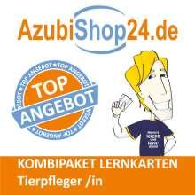 Claudia Huppert-Schirmer: AzubiShop24.de Kombi-Paket Lernkarten Tierpfleger /in, Diverse