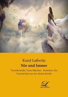 Kurd Laßwitz: Nie und Immer, Buch
