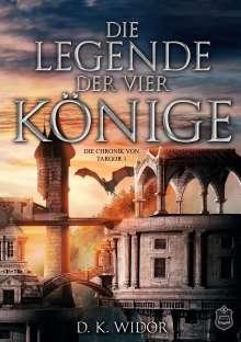 D. K. Widor: Die Legende der vier Könige, Buch