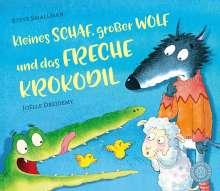 Steve Smallman: Kleines Schaf, großer Wolf und das freche Krokodil, Buch