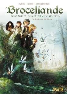 Nicolas Jarry: Broceliande - Der Wald des kleinen Volkes. Band 3, Buch