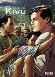 Jean Van Hamme: Kivu, Buch