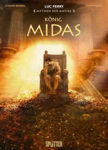 Luc Ferry: Mythen der Antike: König Midas (Graphic Novel), Buch