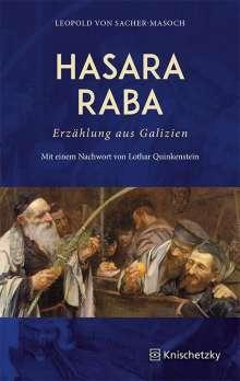 Leopold von Sacher-Masoch: Hasara Raba. Erzählung aus Galizien, Buch