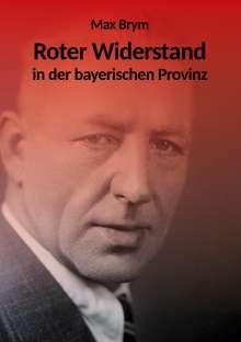 Max Brym: Roter Widerstand in der bayerischen Provinz, Buch
