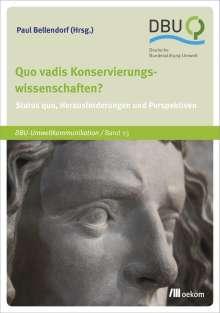 Quo vadis Konservierungswissenschaften?, Buch