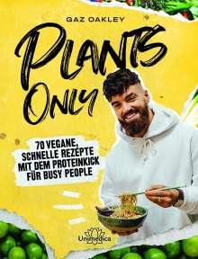 Gaz Oakley: Plants Only, Buch