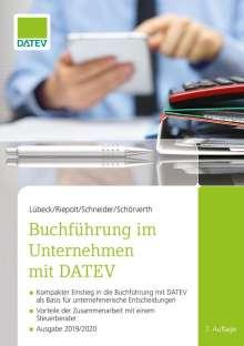 Monika Lübeck: Buchführung im Unternehmen mit DATEV, Buch