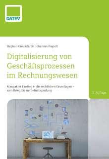 Stephan Greulich: Digitalisierung von Geschäftsprozessen im Rechnungswesen, Buch