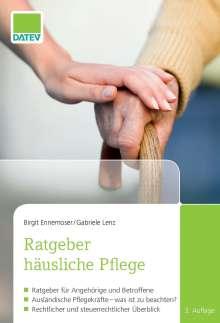 Birgit Ennemoser: Ratgeber häusliche Pflege, Buch