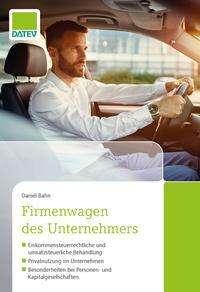 Daniel Bahn: Firmenwagen des Unternehmers, Buch