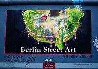 Berlin Street Art 2021 - Format S, Kalender