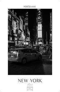 New York schwarz-weiß 2022 - Format S, Kalender