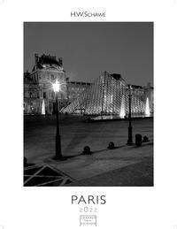 Paris schwarz-weiss 2022 - Format S, Kalender