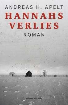 Andreas H. Apelt: Hannahs Verlies, Buch