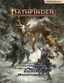 John Compton: Pathfinder 2 - Zeitalter dVO: Völker & Machtgruppen, Buch