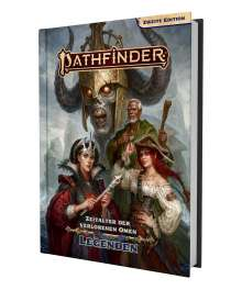 Amirali Attar Olyaee: Pathfinder 2 - Zeitalter dVO: Legenden, Buch