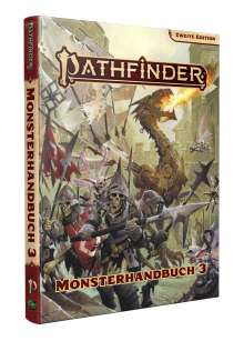 Logan Bonner: Pathfinder 2 - Monsterhandbuch 3, Buch