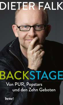 Dieter Falk: Backstage, Buch