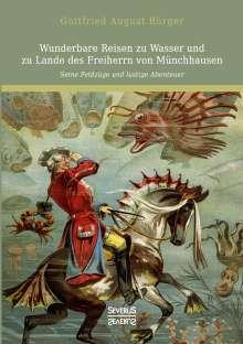 Gottfried August Bürger: Wunderbare Reisen zu Wasser und zu Lande des Freiherrn von Münchhausen, Buch