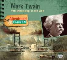 Sandra Pfitzner: Abenteuer & Wissen: Mark Twain, CD