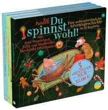 """Kai Pannen: 3 Abenteuer """"Du spinnst wohl!"""", 6 CDs"""