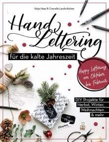 Katja Haas: Handlettering für die kalte Jahreszeit, Buch