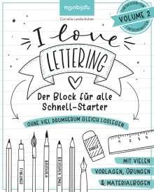 Cornelia Landschützer: I Love Lettering, Buch