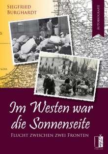 Siegfried Burghardt: Im Westen war die Sonnenseite, Buch