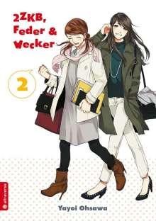 Yayoi Ohsawa: 2ZKB, Feder & Wecker 02, Buch