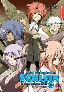 Fuse: Meine Wiedergeburt als Schleim in einer anderen Welt Light Novel 02, Buch
