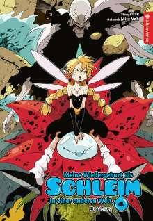 Fuse: Meine Wiedergeburt als Schleim in einer anderen Welt Light Novel 04, Buch