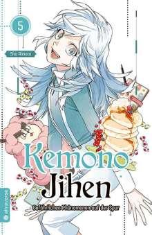 Sho Aimoto: Kemono Jihen - Gefährlichen Phänomenen auf der Spur 05, Buch