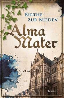 Birthe Zur Nieden: Alma Mater, Buch