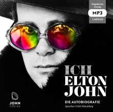 Elton John: Ich: Die Autobiografie, MP3-CD