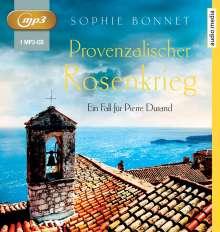 Sophie Bonnet: Provenzalischer Rosenkrieg, MP3-CD