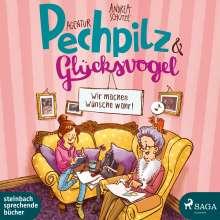 Andrea Schütze: Agentur Pechpilz und Glücksvogel, 2 CDs
