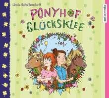 Linda Schellendorff: Ponyhof Glücksklee - Vier Geschichten über das ganz große Ponyglück, 4 CDs