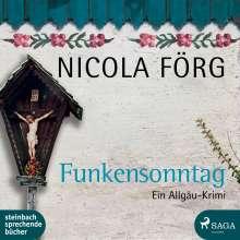 Nicola Förg: Funkensonntag, MP3-CD