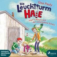 Gisa Pauly: Die Leuchtturm-HAIE - Käpt'n Matjes und der verschollene Schatz, 2 CDs