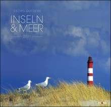 Inseln & Meer 2021 - Großformatkalender, Diverse