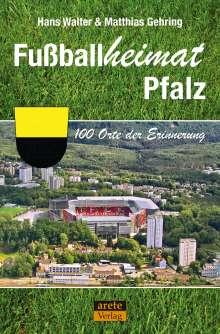Hans Walter: Fußballheimat Pfalz, Buch