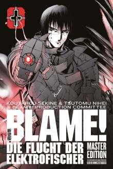 Koutarou Sekine: BLAME! Master Edition +: Die Flucht der Elektrofischer, Buch