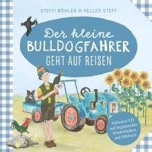 Steffi Böhler: Der kleine Bulldogfahrer geht auf Reisen, Buch