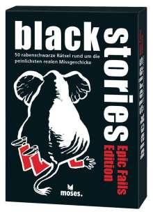 Corinna Harder: black stories - Epic Fails Edition, Diverse