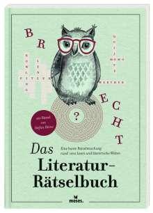 Stefan Heine: Das Literatur-Rätselbuch, Buch