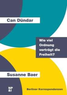 Can Dündar: Wie viel Ordnung verträgt die Freiheit?, Buch